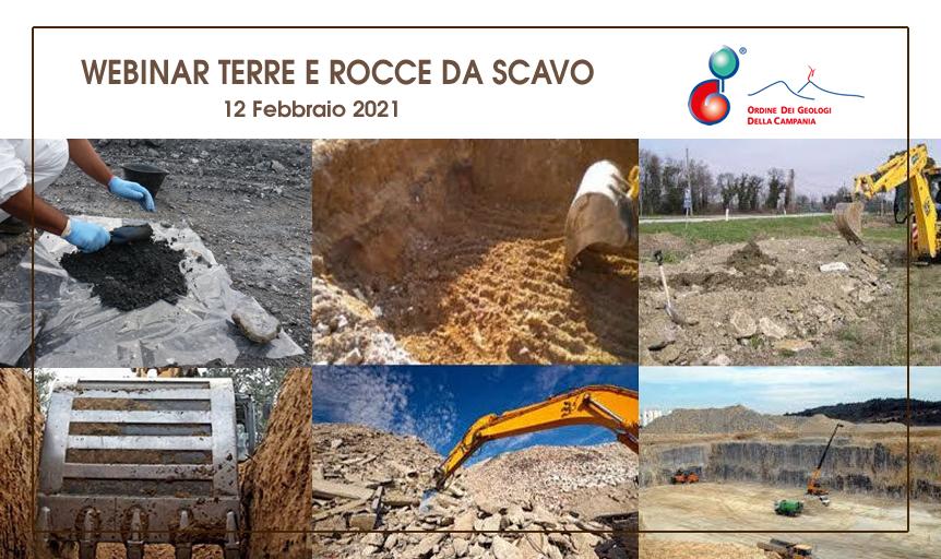 Webinar Terre e Rocce da scavo – DPR 120/2017 – 12 febbraio 2021